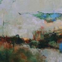 estuary_acrylic_3canvases_60x144_copyright_cheryl_d_mcclure