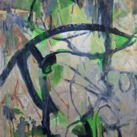 Thicket-acrylic-canvas-48x36x1.5-copyright-Cheryl-D-McClure