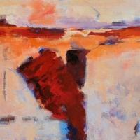 Elemental_acrylic_canvas_30x40_copyright_Cheryl_D_McClure