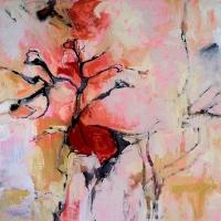 Pink_Ground_48x48_acryic_canvas_copyright_Cheryl_D_McClure_2011