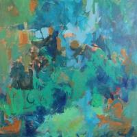 Copse-acrylic-canvas-36x36