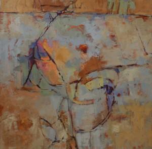 Meander_3_acrylic_canvas_48x48_copyright_Cheryl_D_McClure
