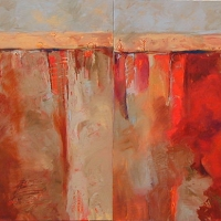 unexplored_territory_1-2_diptych_acrylic_2canvases_40x80_copyright_cheryl_d_mcclure