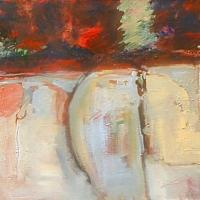 Facade_12_acrylic_canvas_24x36_copyright_Cheryl_D_McClure