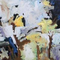 garden_microcosm_24x30_acrylic_canvas_copyright_cheryl_d_mcclure_2010