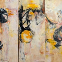 Allegro-triptych-30x30-oil-panel-copyright-cheryl-d-mcclure