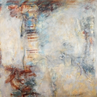 Annotation-Veil-40x40x2-oil-canvas-copyright-cheryl-d-mcclure
