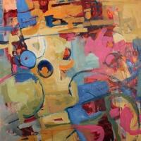 Mid-Summer-Dance-acrylic-canvas-40x40-copyright-cheryldmcclure