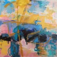 Mid-Summer-Johnson-Creek-2-oil-panel-36x36-copyright-cheryldmcclure