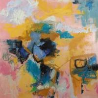 Mid-Summer-Johnson-Creek-oil-panel-36x36-copyright-cheryldmcclure