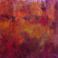 Out-Of-The-Clearing2-24x24x2_oil_wood-panel_copyright_CherylDMcClure