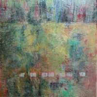 counting-time-24x24x2inches-encaustic-oil-wood-panel-copyright-cheryl-d-mcclure