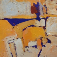yellow4-acrylic-panel-12x12-copyright-cheryl-d-mcclure