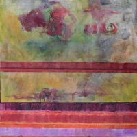 bands-36x24x2-encaustic-oil-panel-copyright-cheryl-d-mcclure